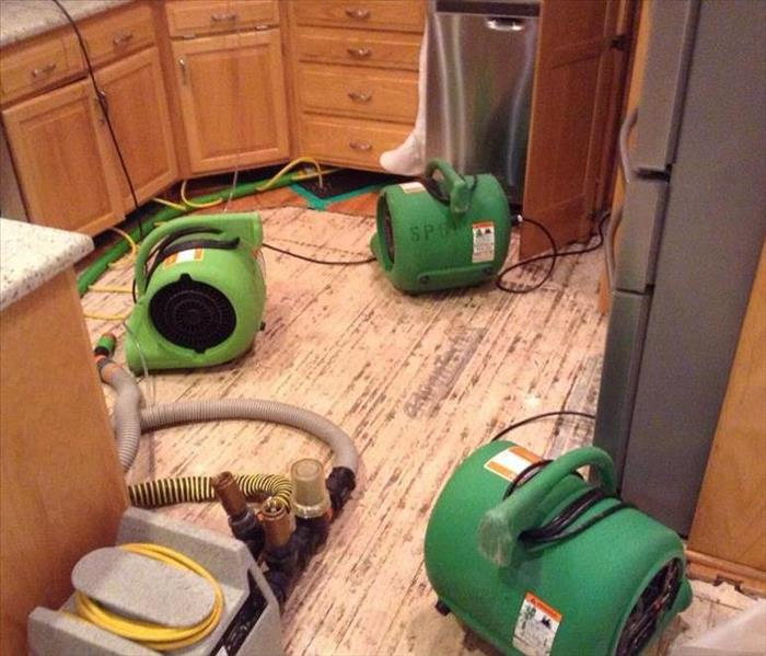 Wood Floors Removed After Supply Line Break After