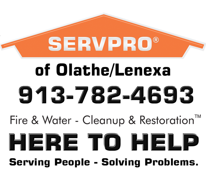 General For immediate service in Olathe / Lenexa call SERVPRO of Olathe/ Lenexa