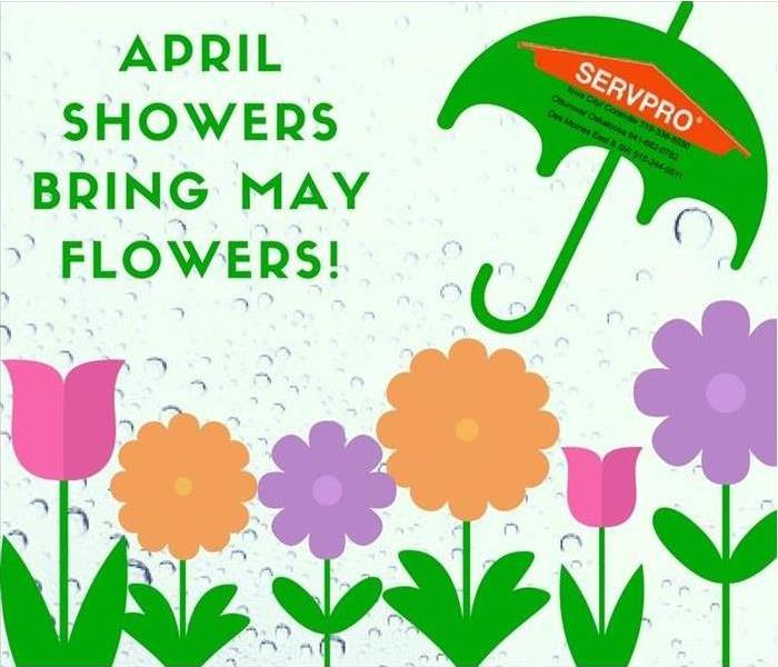 April showers bring may flowers and more servpro of olathe lenexa april showers bring may flowers and more mightylinksfo